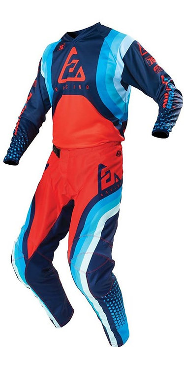 Answer 2021 Syncron Swish Youth Kit Pro Blue/Astana/Answer Red