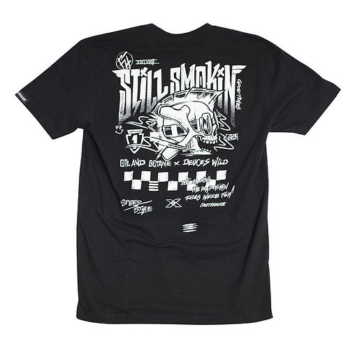 Fasthouse Stilll Smokin Tee Black