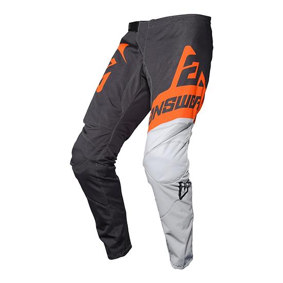 Answer Sycron Voyd Youth Pant Charcoal/Grey/Orange