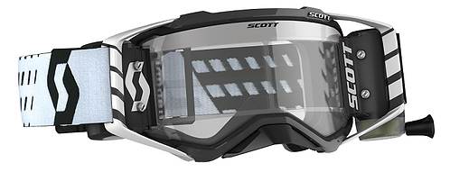 Scott Prospect WFS Roll Off Goggle Black/White Clear Lens