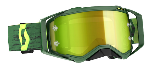 Scott 2022 Prospect Green/Yellow Yellow Chrome Works Lens