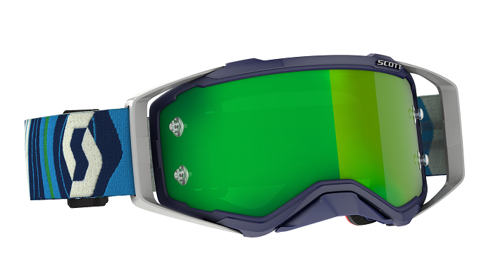 Scott 2021 Prospect Goggle Blue/Green With Green Chrome Lens