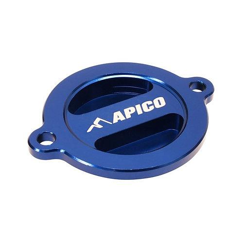 Apico Husky Oil Filter Cover Blue FE/FC250/350/450 19-20