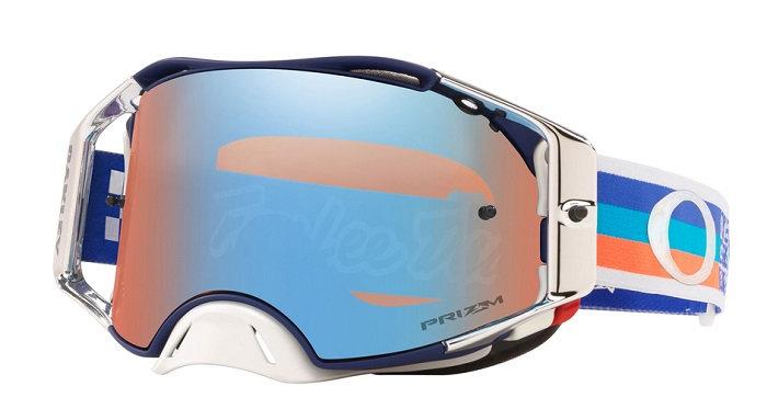 Oakley Airbrake Goggle (TLD Premix Navy/Orange) Prizm MX Sapphire Iridium Lens