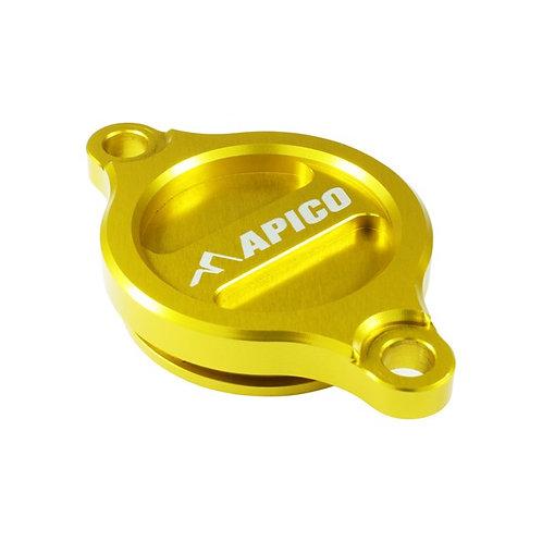 Apico Suzuki Oil Filter Cover RMZ250 07-20 RMZ450 05-20