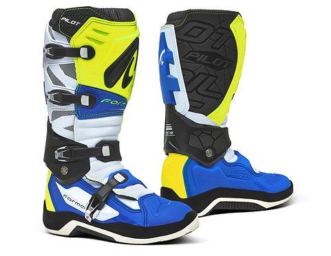 Forma Pilot Boot Flo Yellow/White/Blue