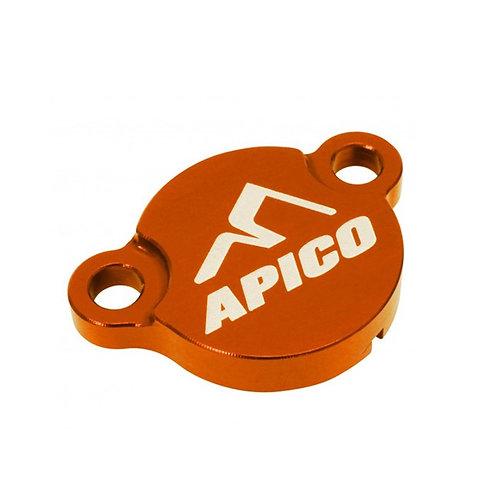 Apico KTM SX50 SX65 SX85 Orange Rear Brake Reservoir Cover