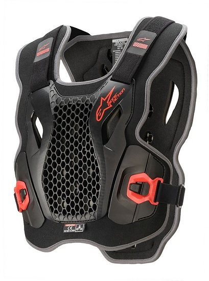 ALPINESTARS ACTION CHEST PROTECTOR BLACK/RED