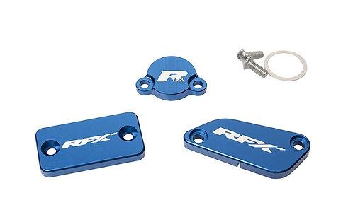 RFX Pro Res Cap Kit (Blue) KTM TC65 17-20 TC85 14-20 (Formula Brake and Clutch)