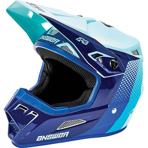 Answer 2021 AR3 Helmet Pace Seafoam/Midnight/Reflex
