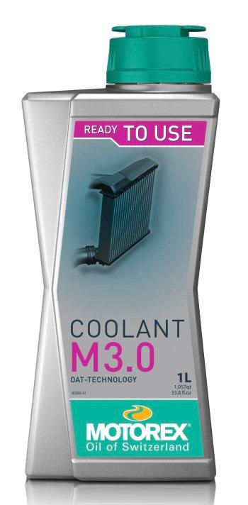 Motorex Coolant 3.0 Ready To Use 1l