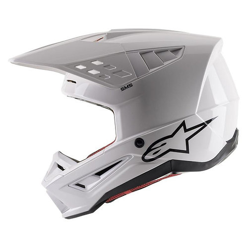 Alpinestars SM5 Helmet Solid White