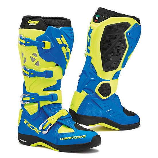 TCX Comp Evo Michelin 2 Boot Royal Blue/Fluo Yellow