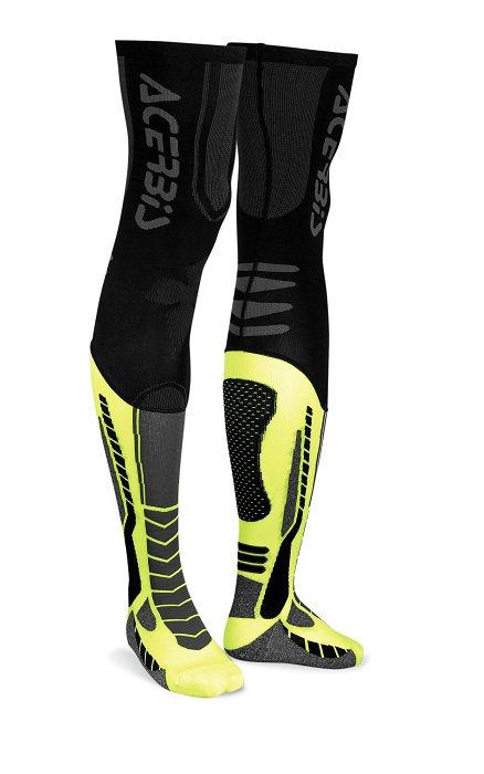Acerbis X-Leg Pro Socks Black/Yellow
