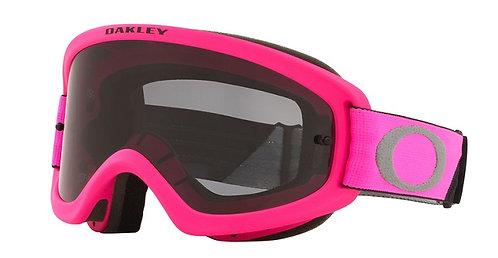 Oakley O Frame 2.0 Pro Youth MX Goggle (Tuff Blocks Pink/Gunmetal) Dark Grey Len