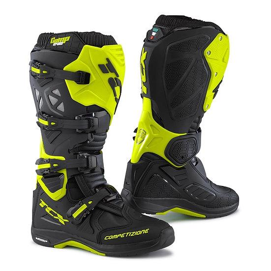 TCX Comp Evo Michelin 2 Boot Black/Yellow Fluo