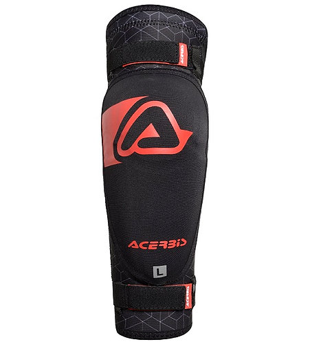 Acerbis Soft Elbow Guard Black/Red