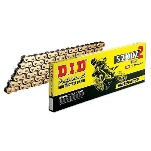 DID 520DZ2 Chain Gold/Black 120L