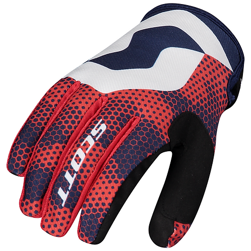 Scott 2021 350 Fury Glove Blue/Red