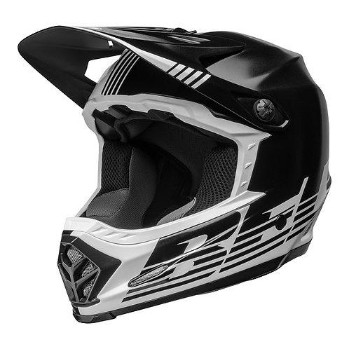 Bell MX 2022 Moto-9 Mips Youth Helmet Louver Black/White