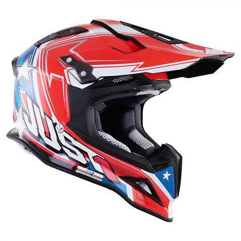 Just1 J12 Carbon Helmet Aster America Small Last One