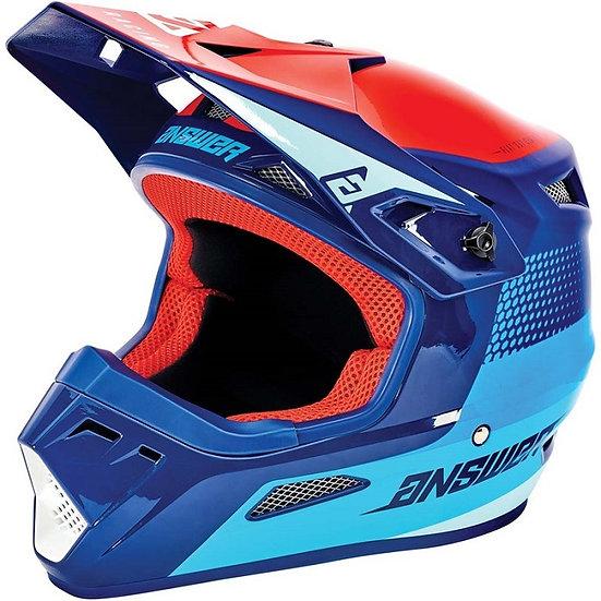 Answer 2021 AR1 Helmet Swish Pro Blue/Astana/Answer Red