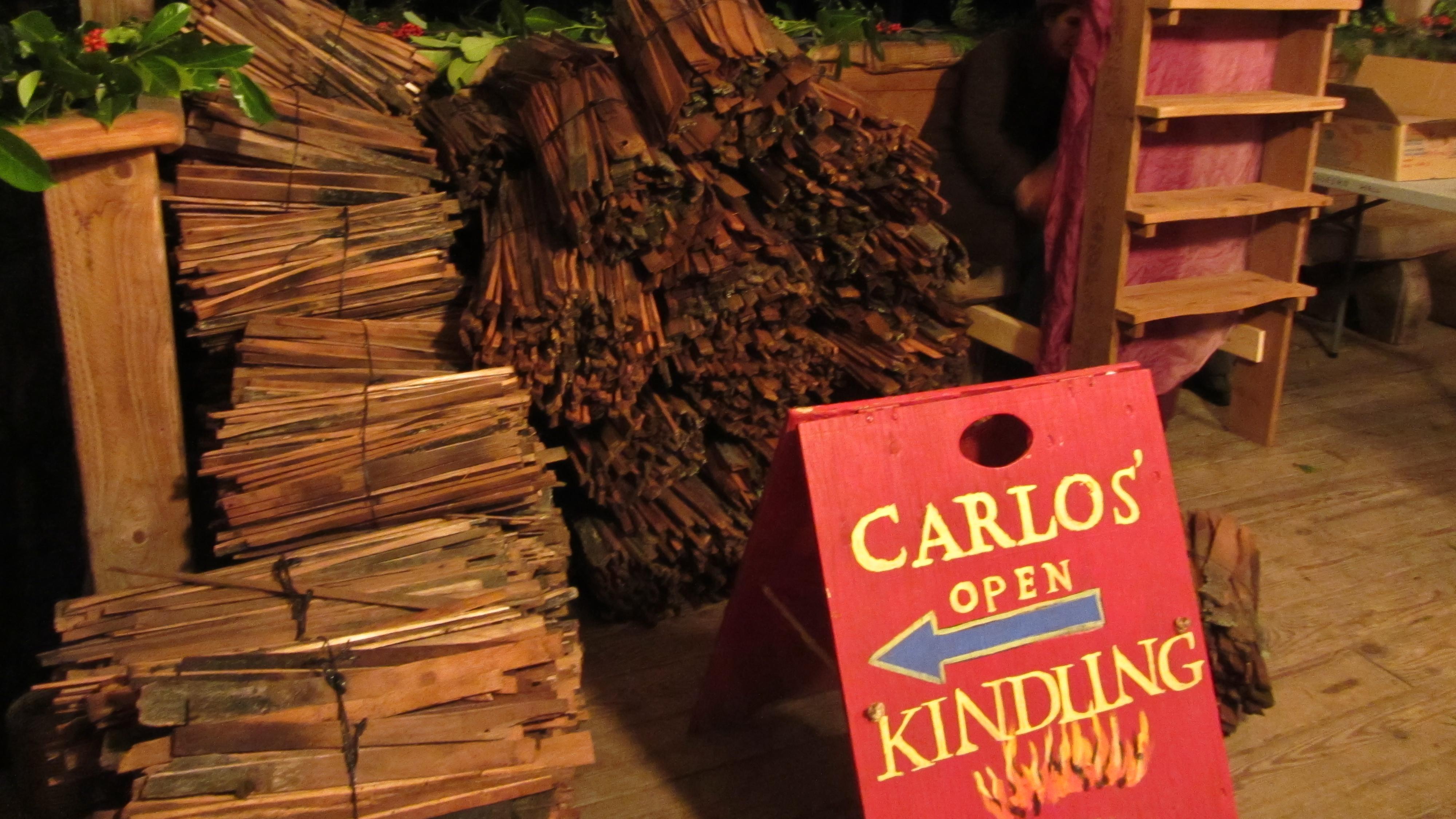 2011 - Carlos' Kindling