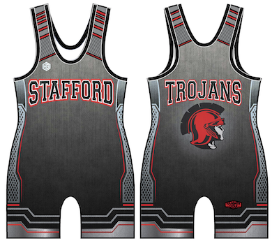 Stafford Trojan Singlet