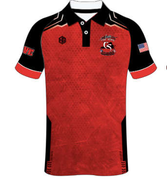 Cave Spring Polo (Red)