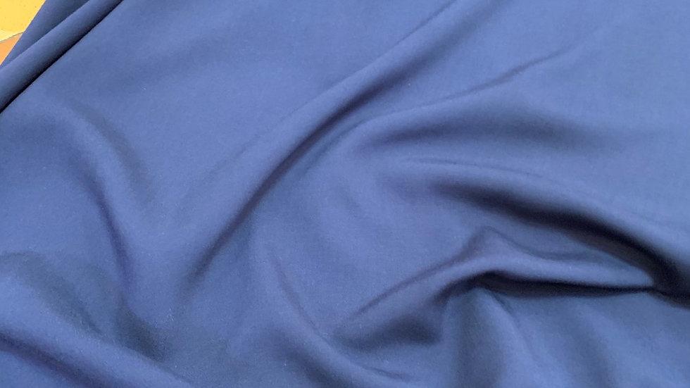 בד ויסקוזה כחול כהה
