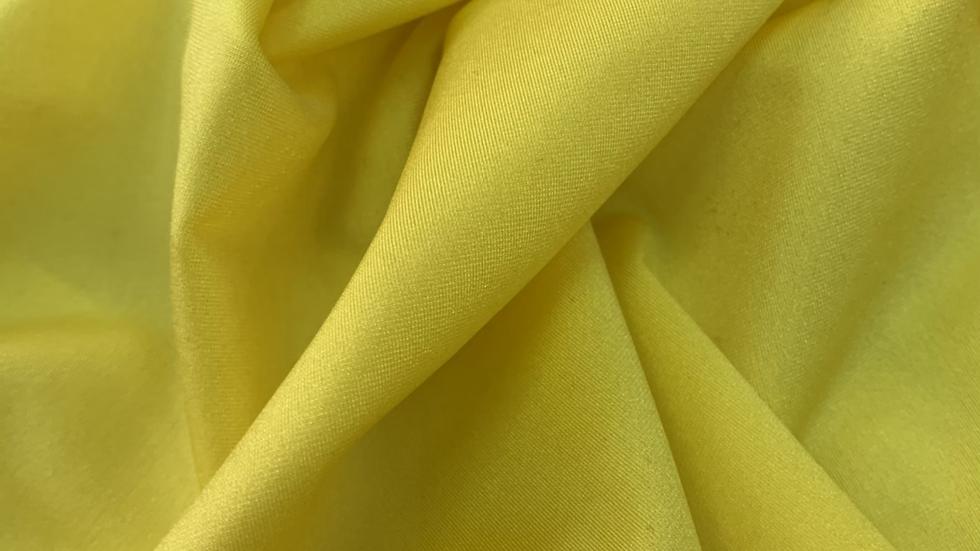 בד לייקרה צהוב