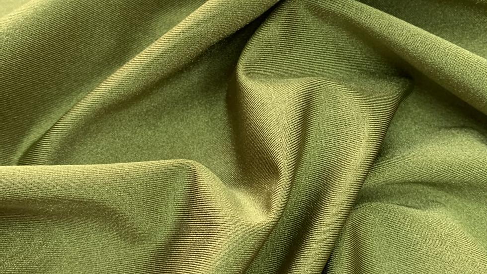 בד לייקרה ירוק זית