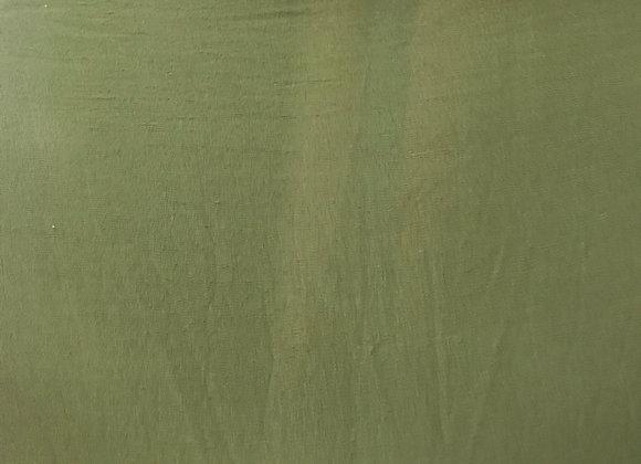בד קרפ לייקרה ירוק זית כהה