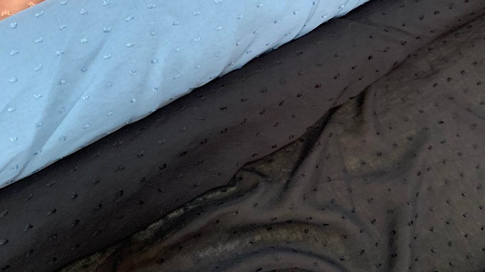בד ויסקוזה רקע שחור
