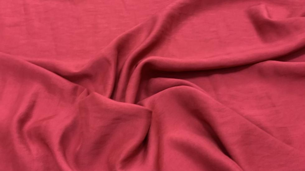 בד ויסקוזה עבה אדום