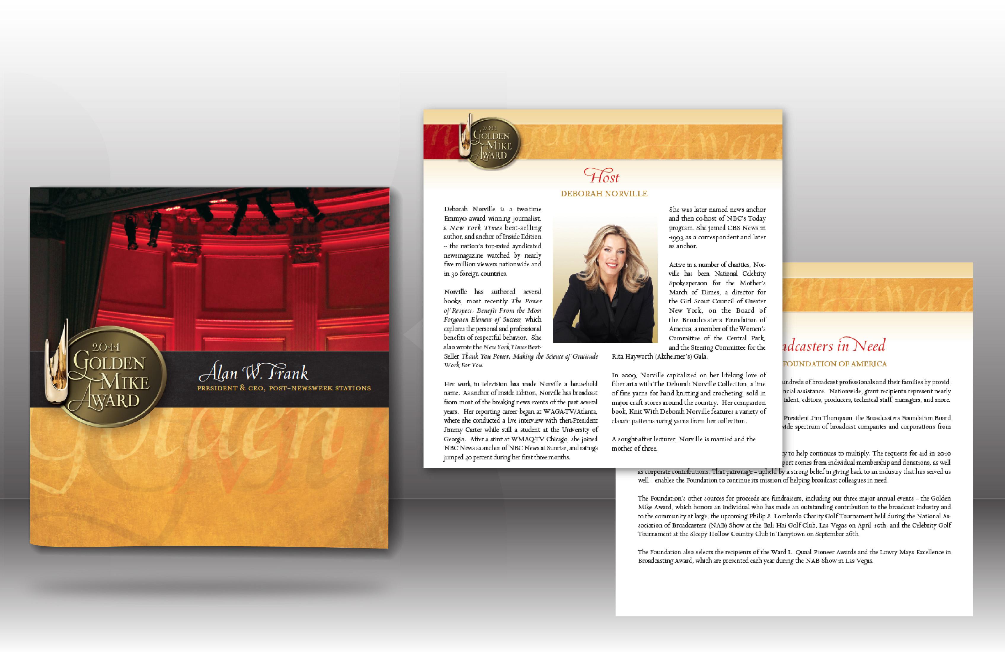 Golden Mike Award Journal 2011