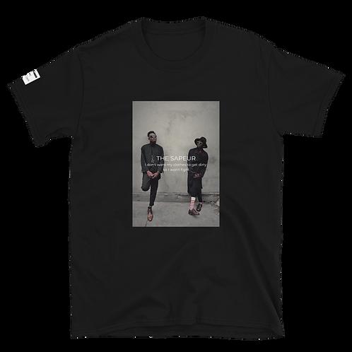 MUSKROCKS×SAP CHANO Unisex T-Shirt