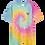 Thumbnail: Gentle Heart Oversize tiedye t-shirt