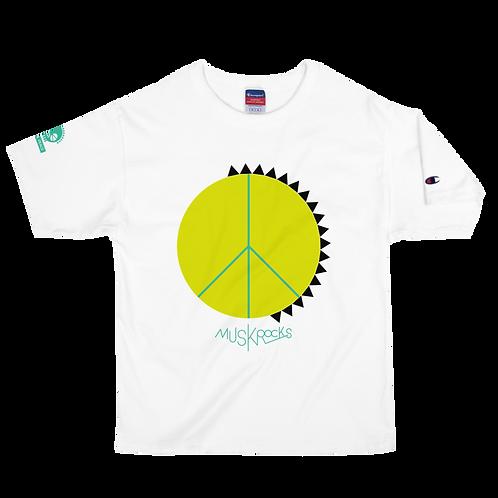 MUSKROCKS×Champion PUNK&PEACE T-Shirt