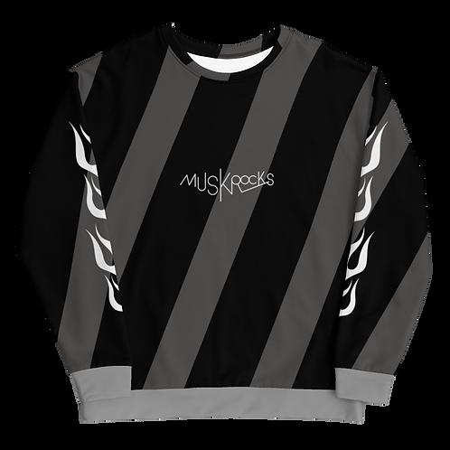 Diagonal stripes Unisex Sweatshirt