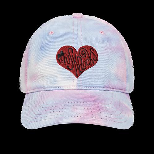 Gentle Heart Tie dye Low Cap