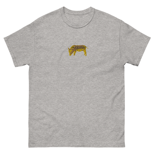 Pigs embroidery heavyweight tee