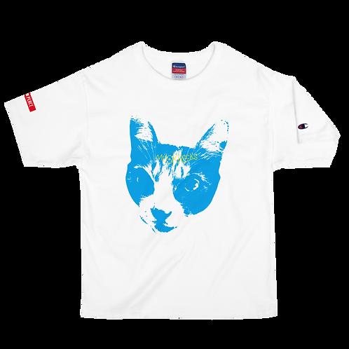 MUSKROCKS×Champion CATS T-Shirt