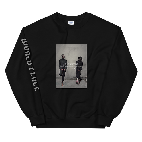 MUSKROCKS×SAPEUR Unisex Sweatshirt