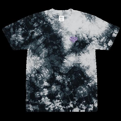 Gentle Heart Oversize tiedye t-shirt