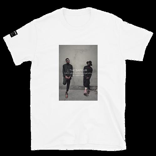 MUSKROCKS×SAPEUR Unisex T-Shirt