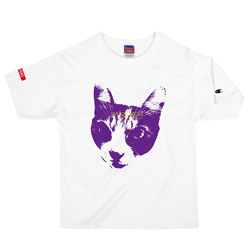MUSKROCKS×Champion CATS T-Shirt
