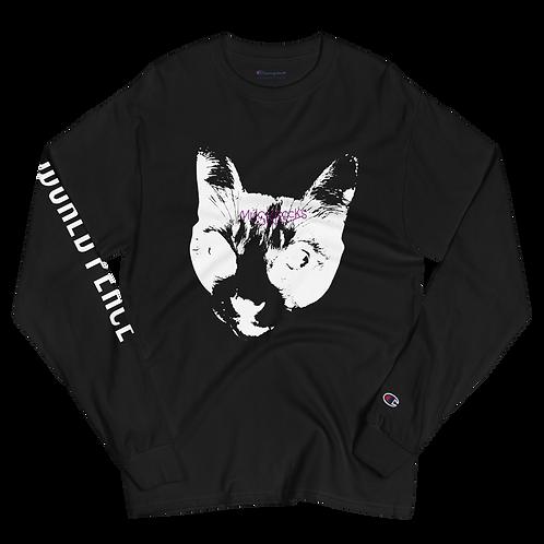 MUSKROCKS×Champion CAT Long Sleeve Shirt