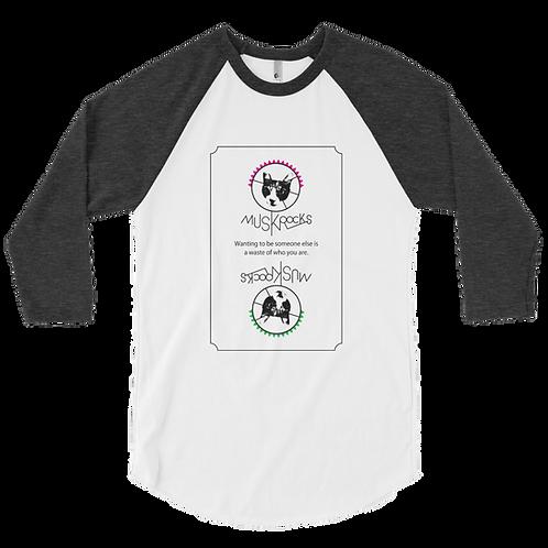 Reverse Cat raglan shirt