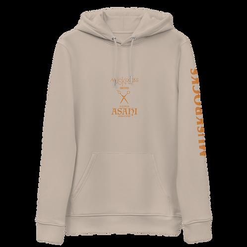 MUSKROCKS×ASAHI Unisex essential eco hoodie